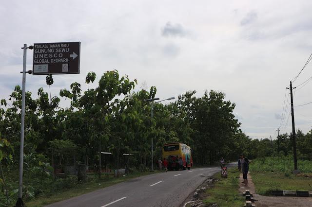 Etalase Taman Batu Geopark Gunung Sewu