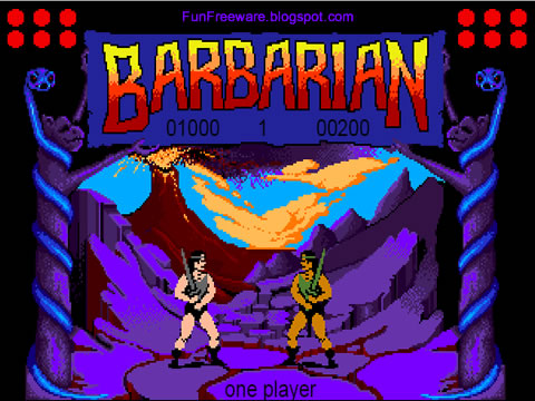 Barbarian: The Ultimate Warrior Screenshot