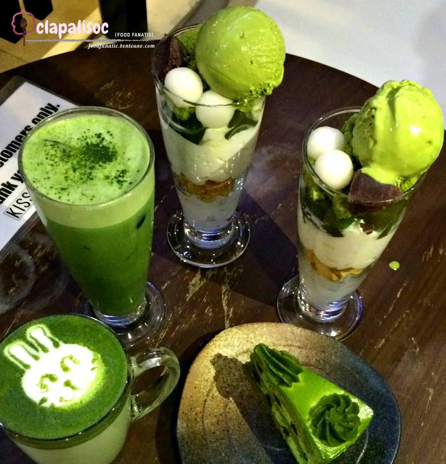 Everything Green Tea: Kissako Uji Matcha Cafe