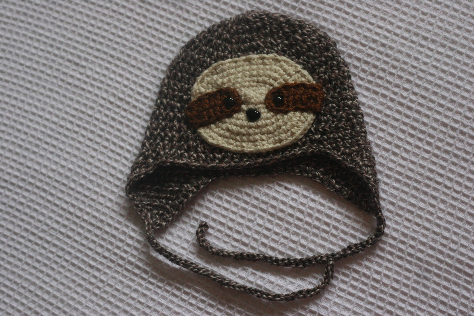 Once the pattern is finished i ll pop it here in this post so you can all  make your own little Sloth hat. f4f3f3f2c6f