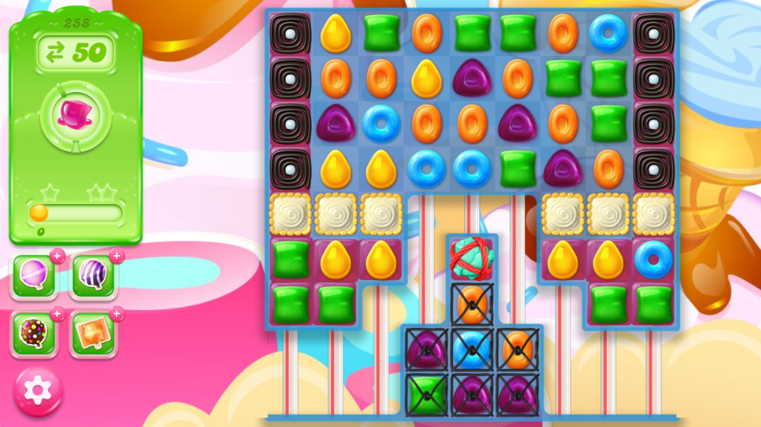 Candy Crush Jelly Saga 258