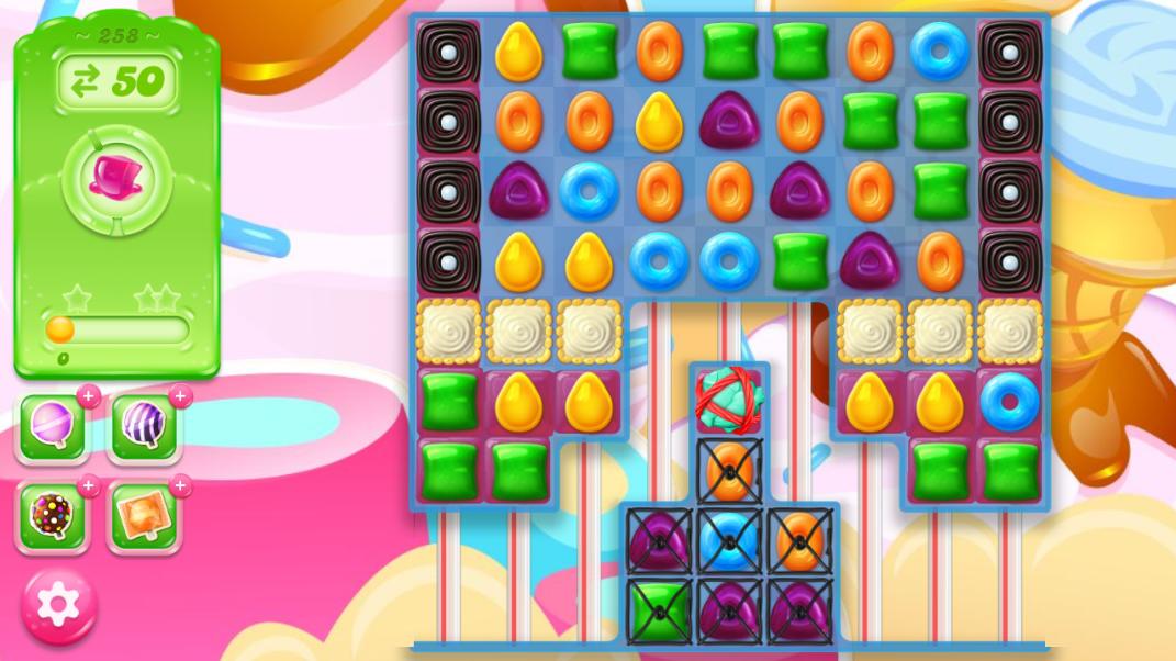 Candy Crush Jelly Saga 258