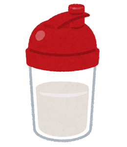 Sports protein shaker