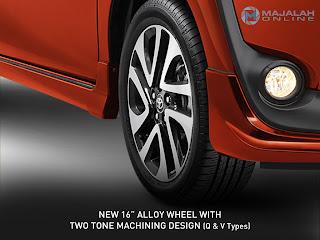 Sienta 16-Inch Alloy-Wheel