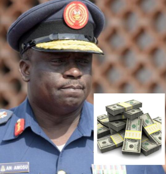 ex coas returns stolen money