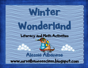 http://www.teacherspayteachers.com/Product/Winter-Wonderland-Literacy-and-Math-Activities-178821