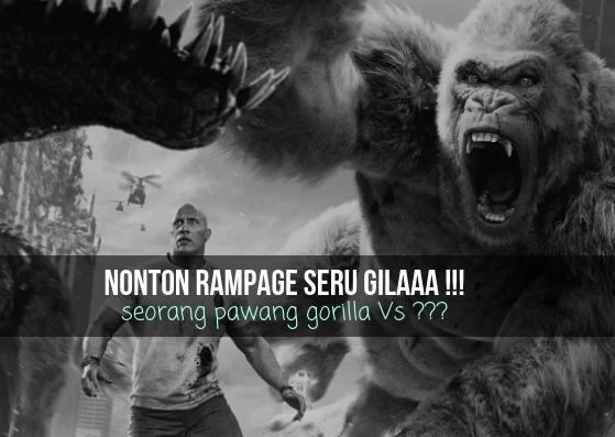 film yang bercerta tentang seorang pawang gorilla dari mantan marinir