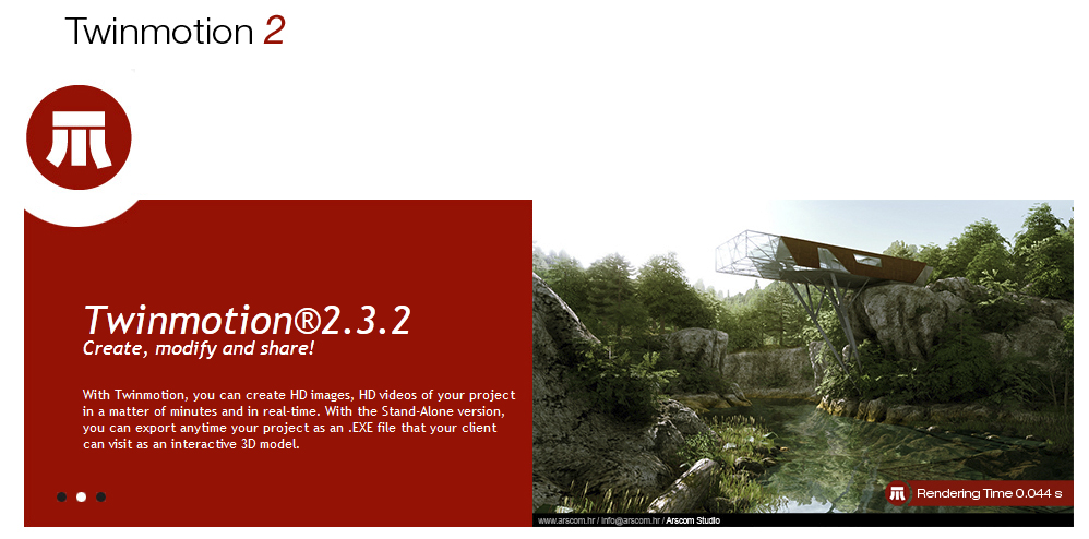 Twinmotion V2 3 2 | 4render the best source of free render softwares