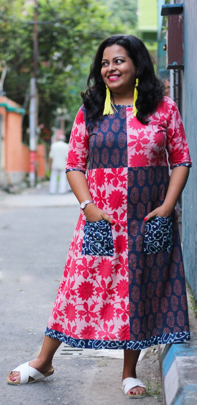 What to wear during Durga Puja - Dashami Fashion - Durga Puja Lookbook - Festive Lookbook - Live Laugh Dressup - Indian Fashion Blogger