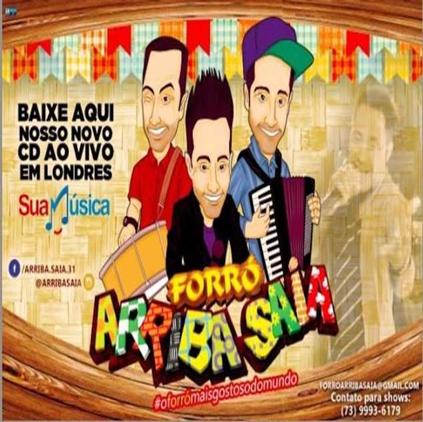 CD ARRIBA A FORRO SAIA BAIXAR