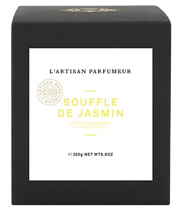 Avis Souffle de Jasmin de L'Artisan Parfumeur, blog bougie, blog parfum, blog beauté