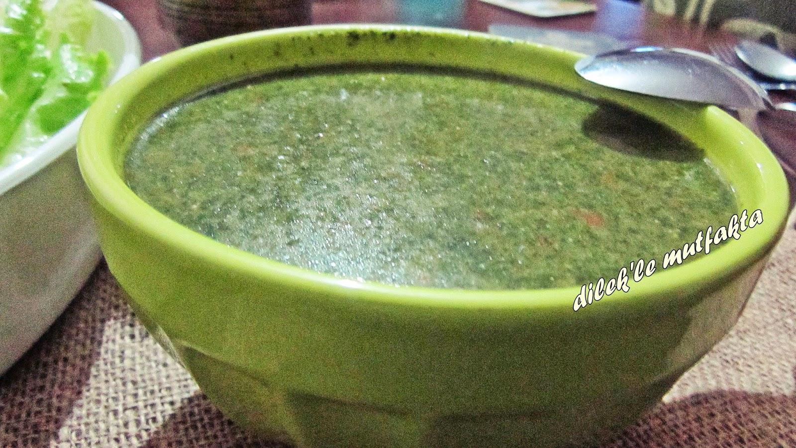 Isırgan otu çorbası tarifi