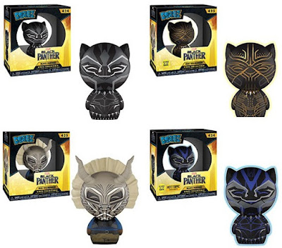 Black Panther Movie Dorbz Vinyl Figures by Funko x Marvel