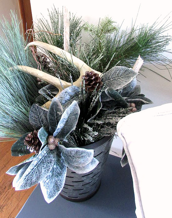 Christmas Decor - rustic style