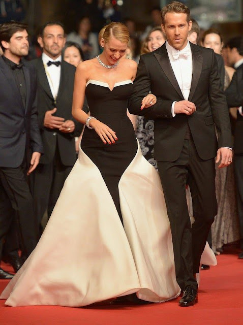 Blake Lively in Gucci Première – 'Captives' Cannes Film Festival Premiere