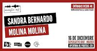 Concierto de Sandra Bernado y Molina Molina en el Superlativo Bar