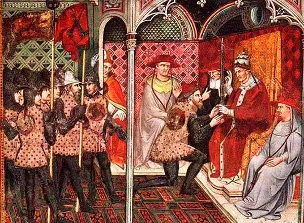 La era feudal y la relación entre el señor y sus vasallos / WEB