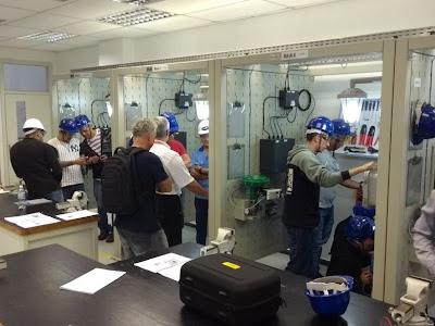 Curso de formação continuada em Atmosferas Explosivas (Ex001 e Ex003) no Senai de Santos - Equipe Sense foi lá fazer....
