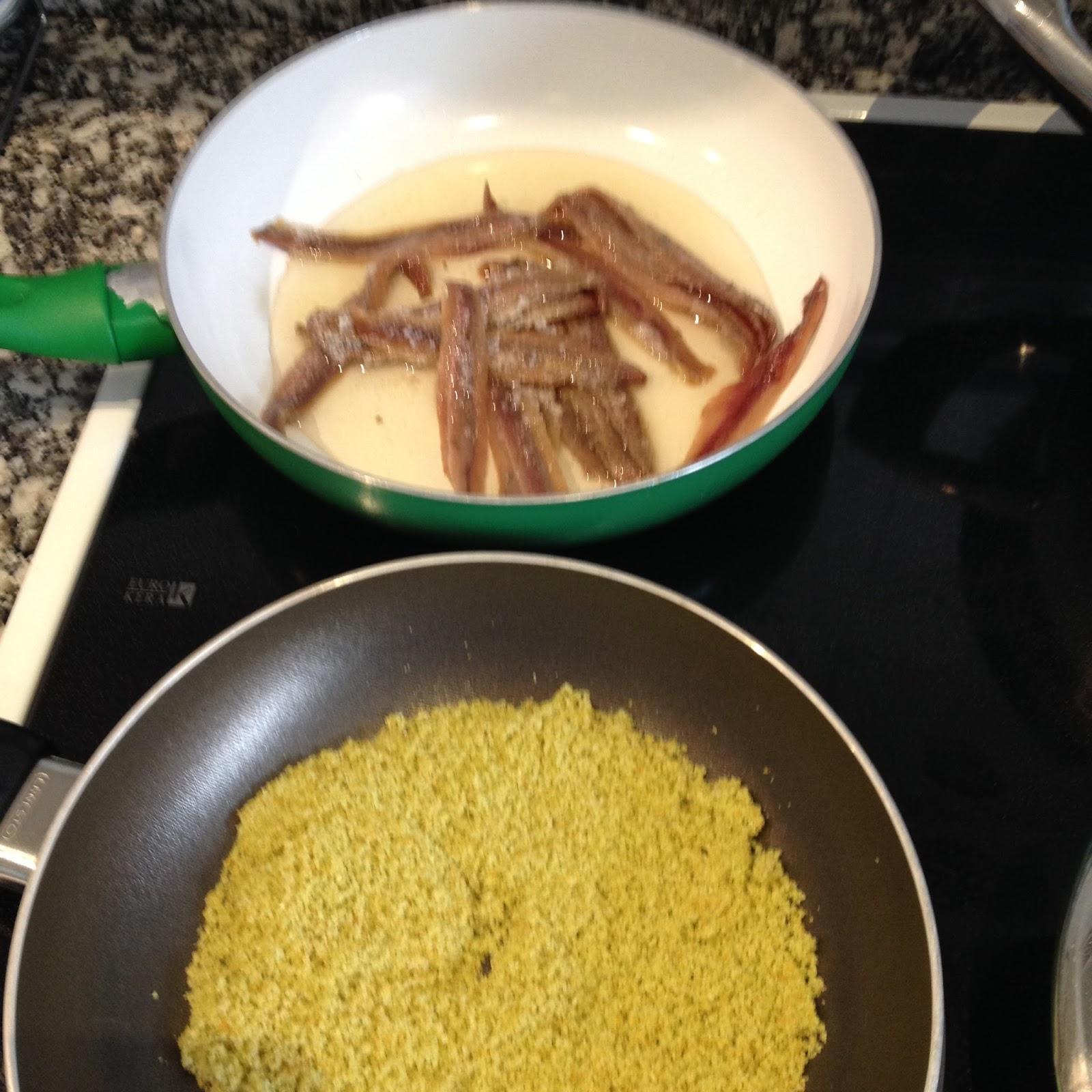 Cocina con alma espaguetis con anchoas - Cocina con alma ...
