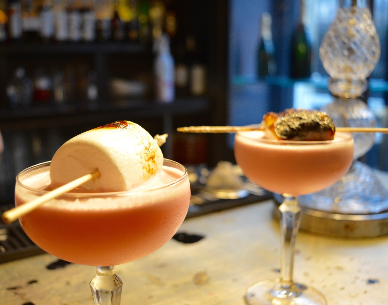 Cocktail Masterclass at Jalou, Newcastle - Marshmallow Martini