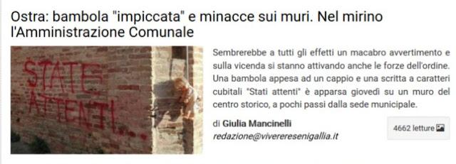 http://www.viveresenigallia.it/2017/07/22/ostra-bambola-impiccata-e-minacce-sui-muri-nel-mirino-lamministrazione-comunale/646955/