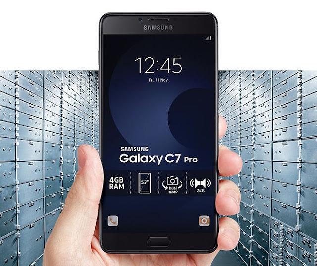 Samsung Galaxy C7 Pro Terbaru 2017