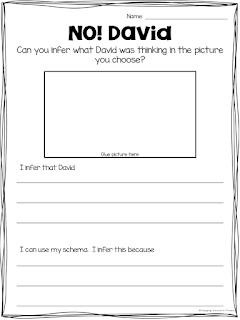inferring worksheet NO David