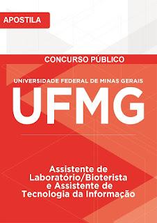 Apostila UFMG 2016 Assistente de Laboratório