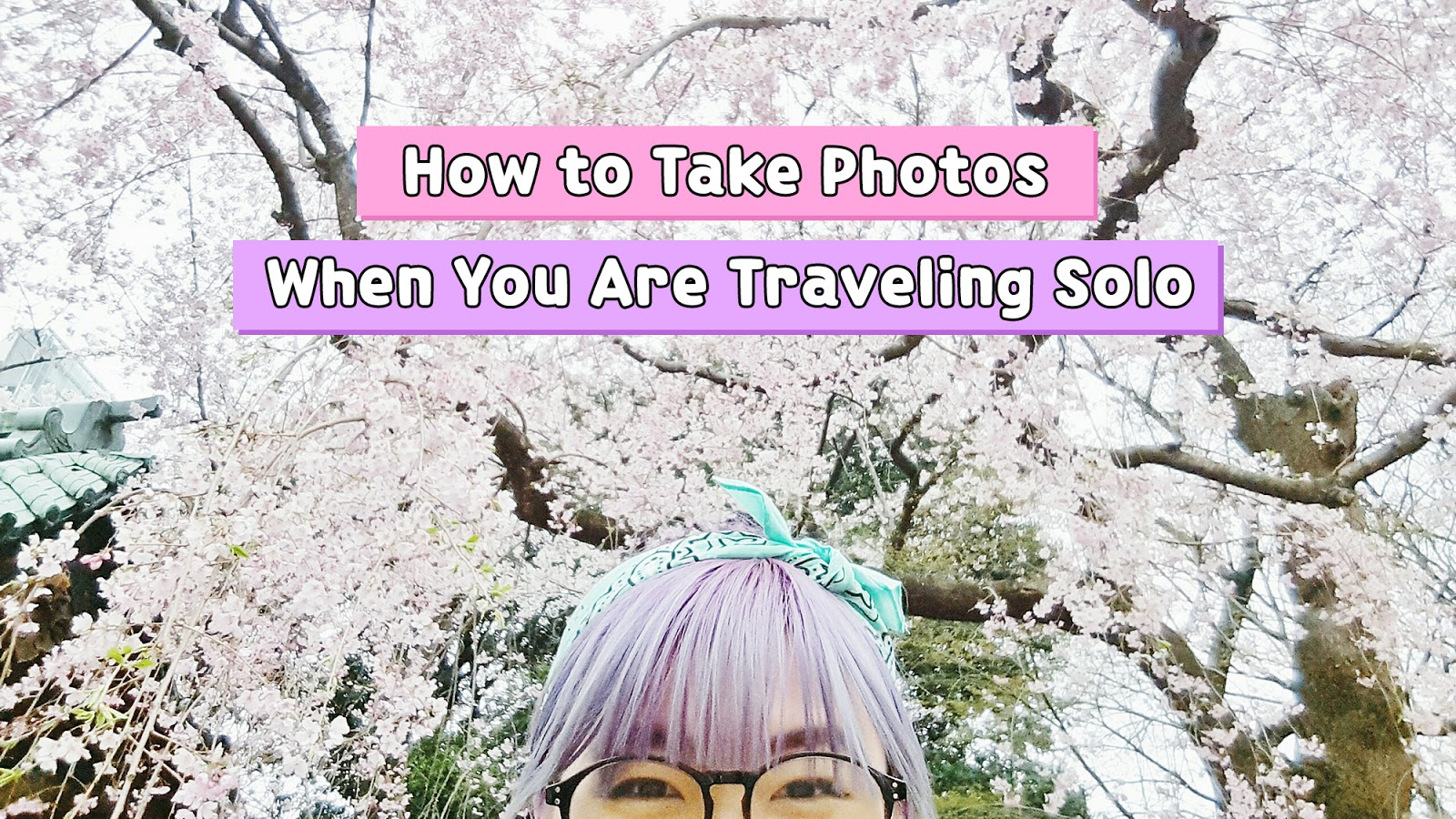 How to Take Photos When Traveling Solo - Pin 1 | www.bigdreamerblog.com