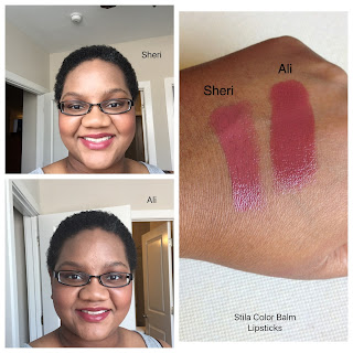 Products I still love: Stila Color Balm Lipsticks swatched