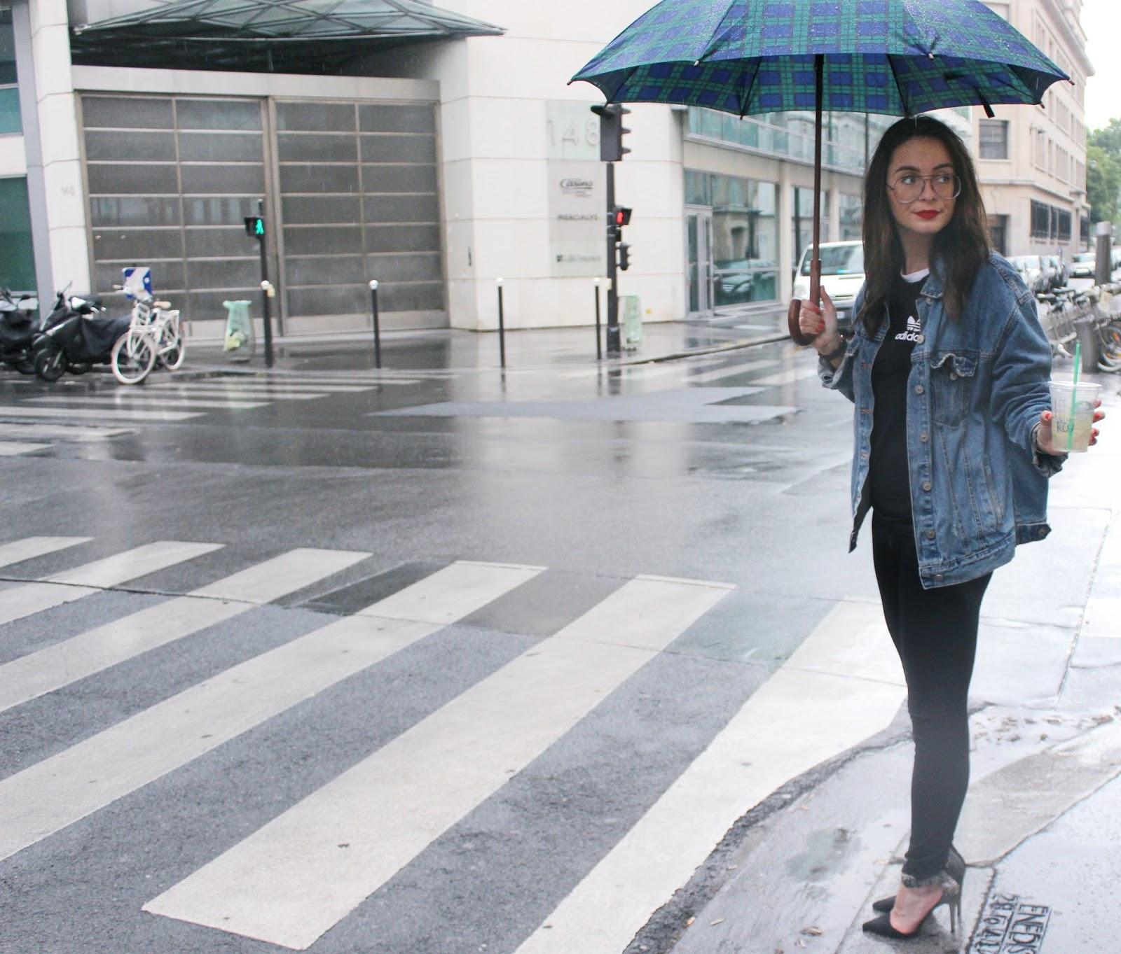 Pluie sur Paris