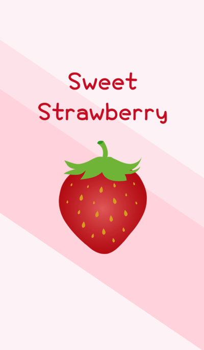 Sweet strawberry theme