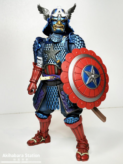 Mei Sho Manga Realization Captain America - Tamashii Nations