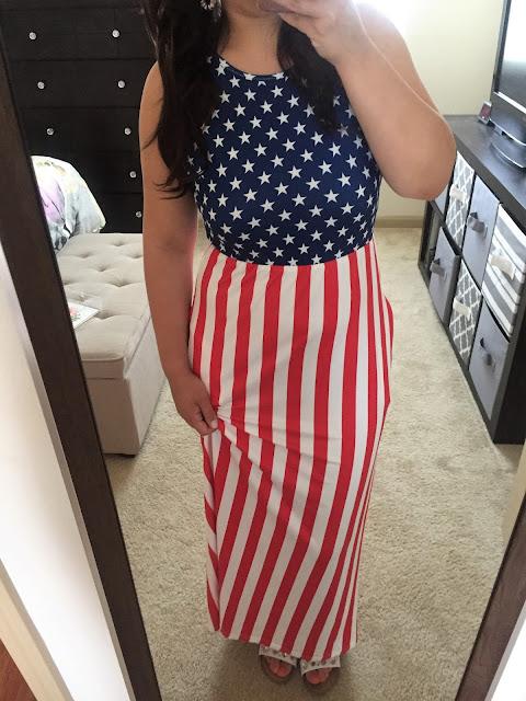 american flag dress