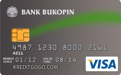 Kartu Kredit Bukopin Visa Classic