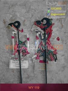 Souvenir wayang mini lis nama