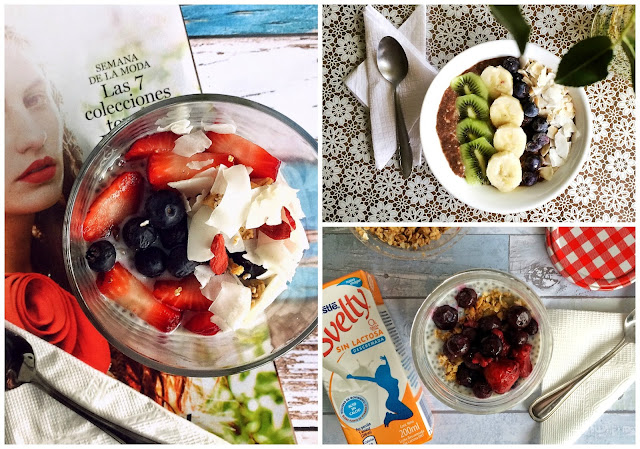 *Food: Desayunos saludables. Muchas ideas.
