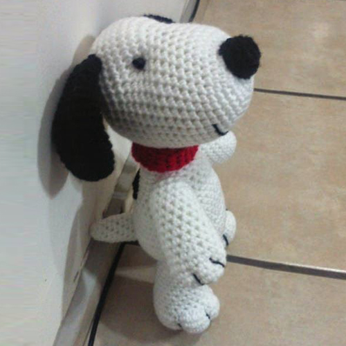 Snoopy Amigurumi - Free Pattern