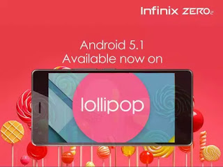 ANDROID 5.1 LOLLIPOP UPDATE NOW AVAILABLE FOR INFINIX SMARTPHONE USERS. price in nigeria