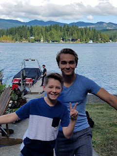Rylan Crow and Evan Parker on an Anderson Ross Productions Video Shoot
