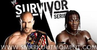 Watch WWE Survivor Series 2012 PPV Online United States Championship Match R-Truth vs Antonio Cesaro