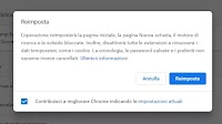 Come Ripristinare i Browser Chrome, Firefox, Edge