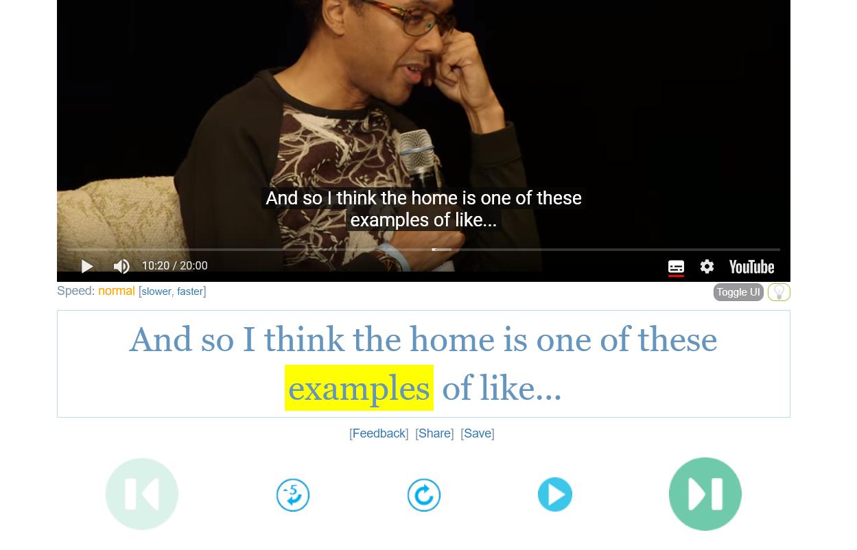 Youglish 利用 YouTube 練習英文口語發音,真實情境英文口說
