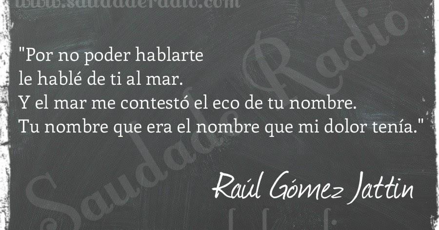 Raul gomez jattin poemas