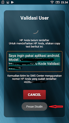 login aplikasi dr android center