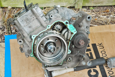Yamaha YZF R125 engine rebuild post