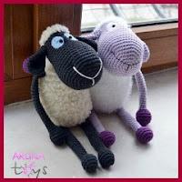 Preciosas ovejas amigas amigurumi