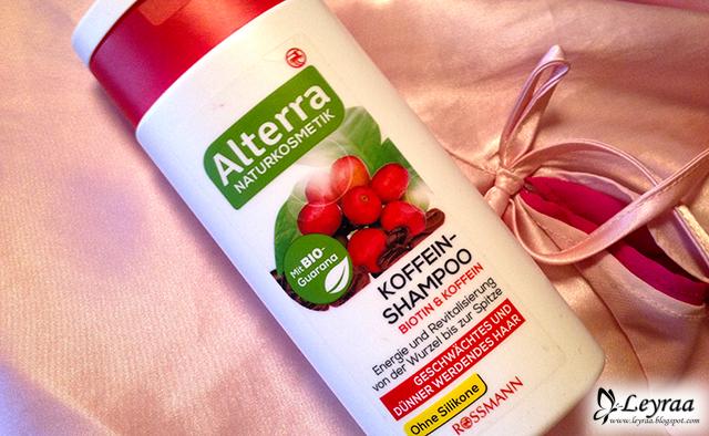 Aleterra szampon do włosów osłabionych i przerzedzających się, Biotyna & Kofeina