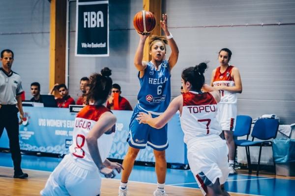 Ευρωπαϊκό Νεανίδων U18 : Τουρκία – Ελλάδα 71-62