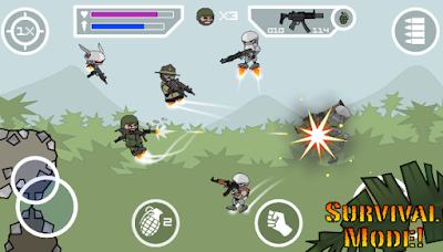 Download Doodle Army 2 Mini Militia MOD